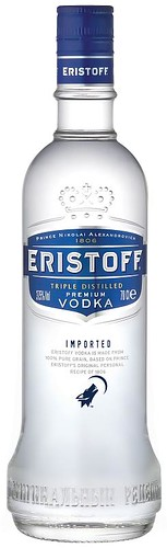 Pack Eristoff Vodka