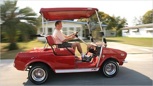 Mustang Golf Cart