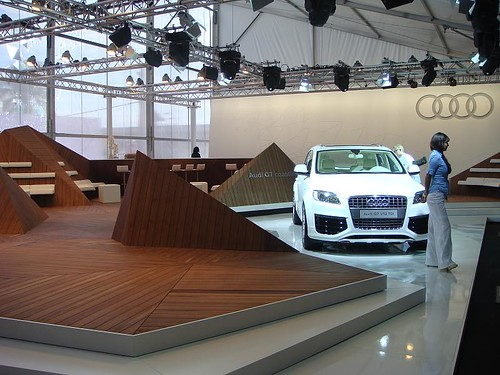 Stand Audi en Design Miami 2008