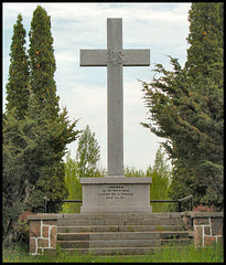 Carhagouha cross - 1615 first Mass in Ontario (Champlain)