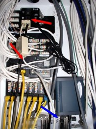 Phonegnome in my wiring panel