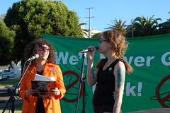 Jessica Lanyadoo and writer Michelle Tea - No on 73