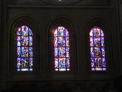 Vitraux dans la Cathédrale de Lausanne