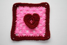 one heart square