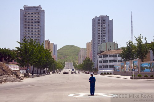 Traffic Lights, North Korean style