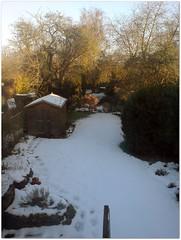 Snow still here