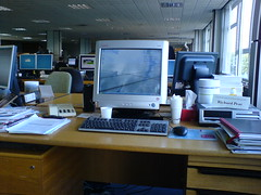 My Desk at SSE