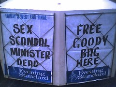 Sex Scandal Minister Dead / Free Goody Bag Here