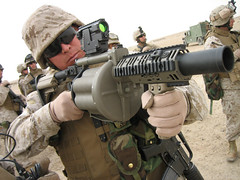 M-32 Multiple shot Grenade Launcher