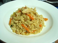 Curried Chicken Risotto