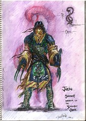 1989 (Aug) - Jarde - Sommniat Warrior of the Serpentine Order 180705