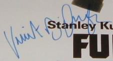 Vincent D'Onofrio Old Style Signature(?)