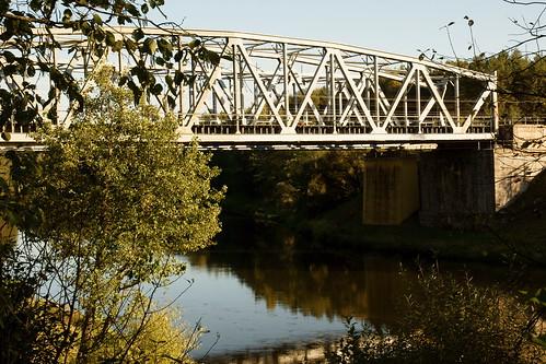 Geležinkelio tiltas per Nerį | Railway bridge over Neris