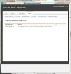 Installing phpMyAdmin on Windows Azure Companion