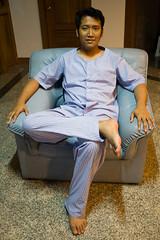 Joe in his Pajamas