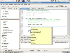 Eclipse Screenshot with PyDev