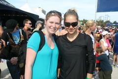 Me and Anna Kournikova, Nautica South Beach Triathlon 2009