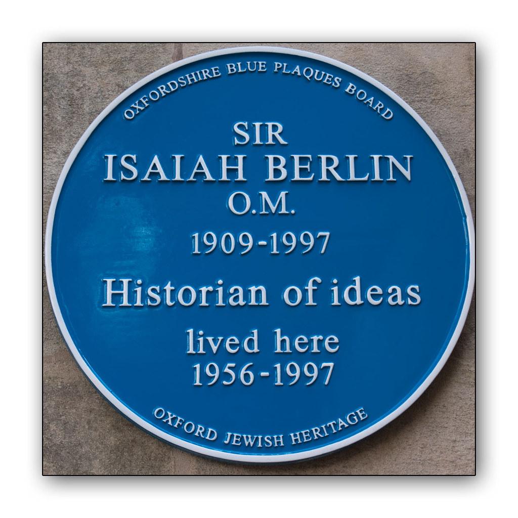 Sir Isaiah Berlin | Historian of ideas