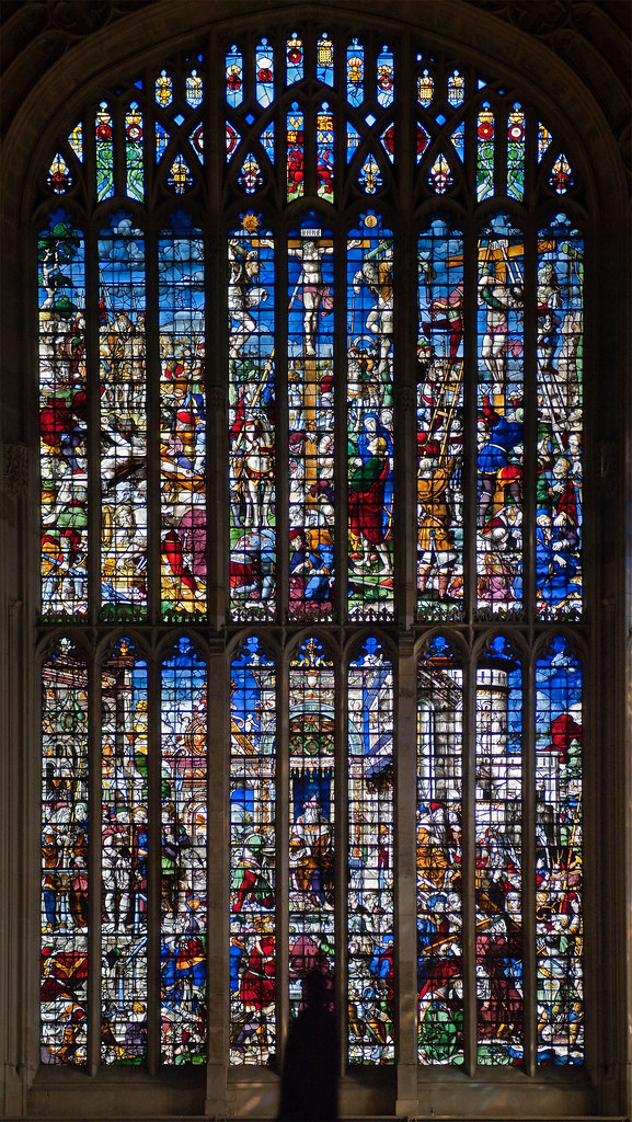 East window, Kings College Chapel