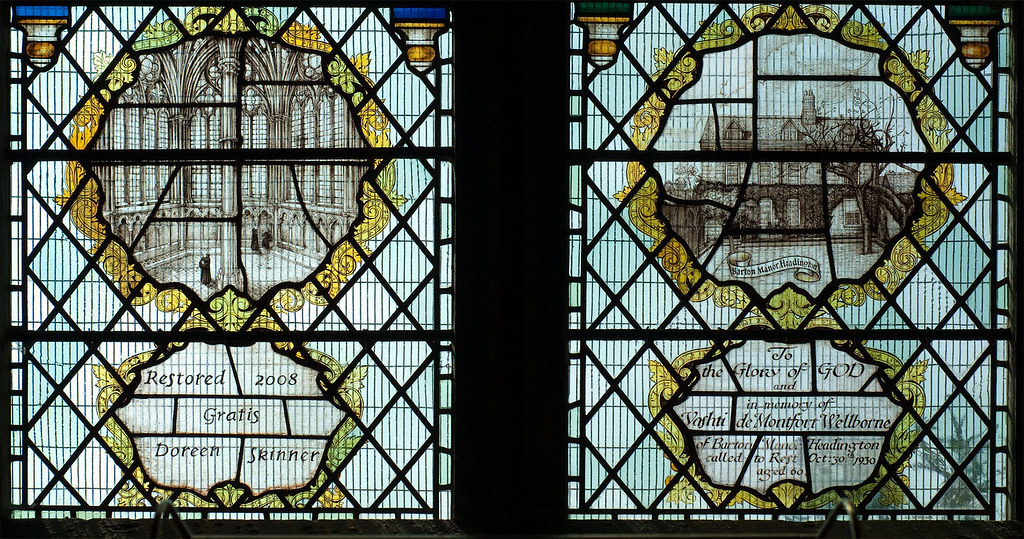 West window detail