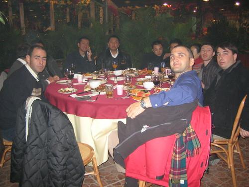 Dinner at the Bio Restaurant