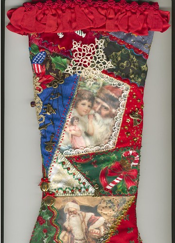Reverse side of the stocking