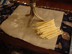 Making Beeswax Candles 5