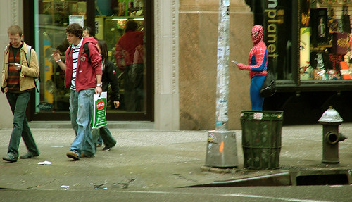 Spiderman search for his retirement home