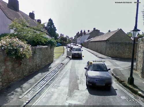 Google street view comes to Old Headington
