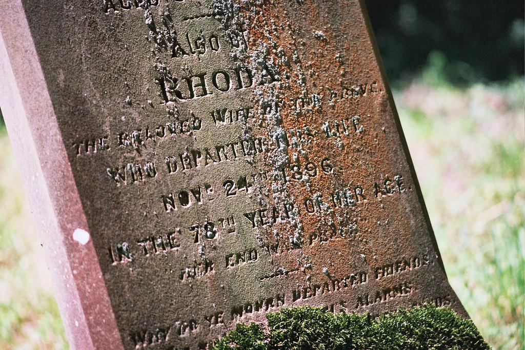 Headstone, All Saints, Swallowfield