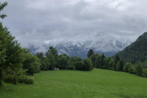 Snevejr i Virgental i juni 2013