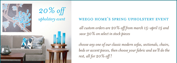 SALE ALERT: Weego Home