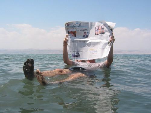 Dead Sea newspaper