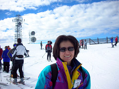 Chika at Alpine Meadows