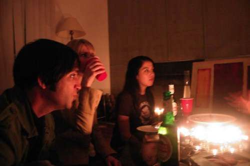 Party with Candles #4: Conversation and fire!