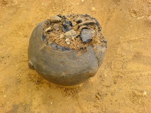 Saxon Cremation