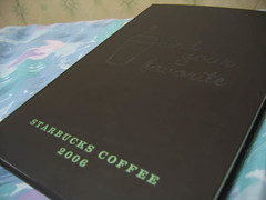 Finally, the Starbucks 2006 Planner