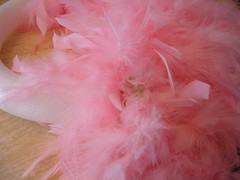 Making a Feather Wreath 3