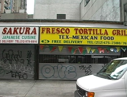 Fajita shop