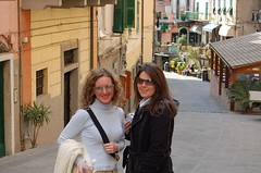 Holly and me in Riomaggiore, Italy