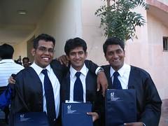 Proud Graduates - Srick, Dejo and myself