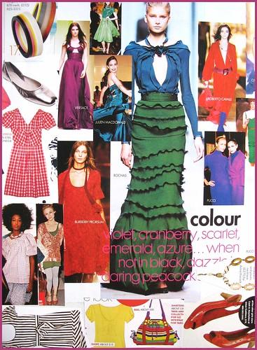 fashion scrapbook page 3