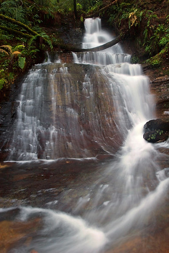 Golden Cascade Falls (lower part)