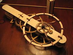 wood clock kits