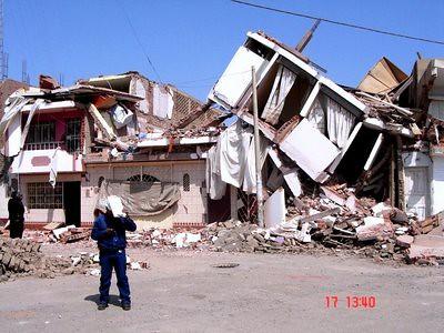 terremoto derrumbe