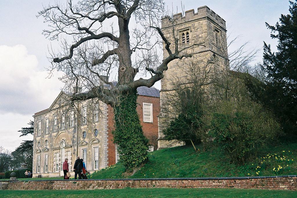 Claydon House and All Saints church
