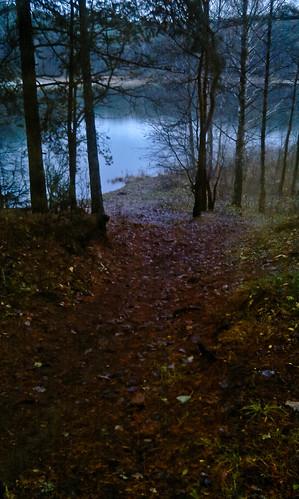 Žemyn link ežero