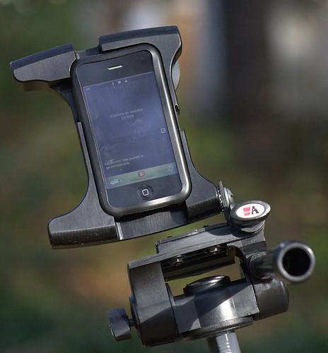 Custom Pan & Tilt head for video streaming while riding