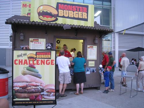 Monstr Burger Challenge