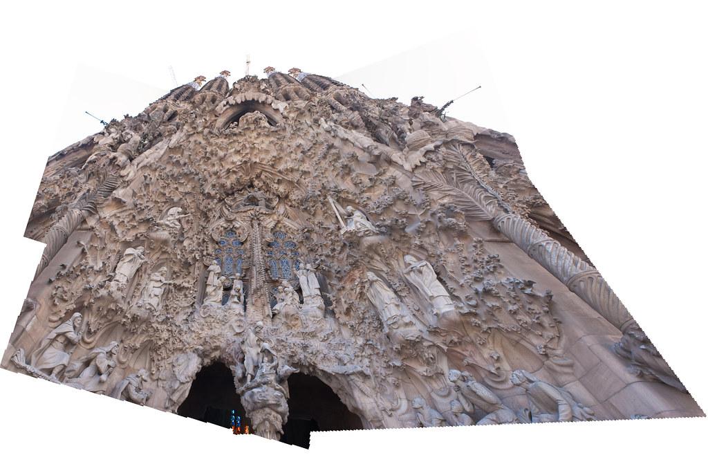 Sagrada Familia photomerge